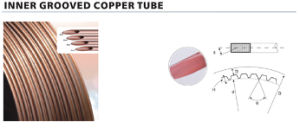 Inner Grooved Copper Tube for Refrigeration pictures & photos