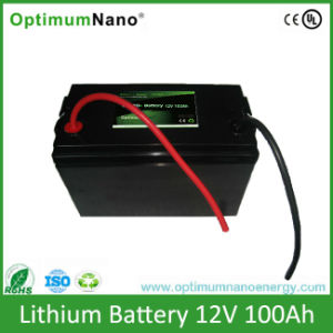Green Energy Lithium Battery 12V 100ah for Boat Trolling Moter pictures & photos