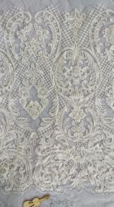 Embroidery Mesh Fabric for Bridal Wedding Evening Dress Hight Quality pictures & photos