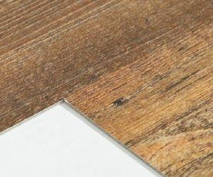 Easy Maintenance Waterproof Wood Grain PVC Vinyl Click Flooring Sheet pictures & photos