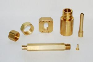 Plain Straight Brass CNC Machining Shafts for Mechanical System pictures & photos