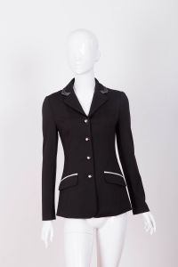Softshell Equestrian Riding Show Jacket for Lady (SMJ10011) pictures & photos