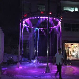 Colorful Music Water Fountain Digital Water Curtain pictures & photos