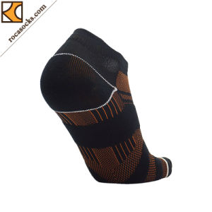 Running Coolmax Anklet Plain Socks for Men (162002SK) pictures & photos