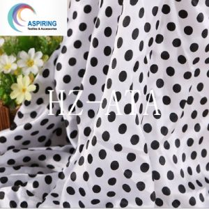 75dx100d 100% Polyester Polyester Satin Printed Fabric pictures & photos