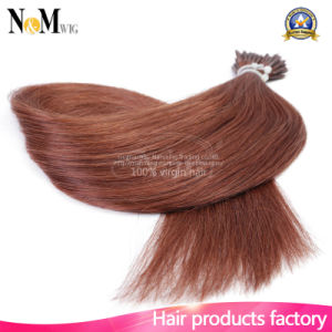 Nano Ring Hair 100% Pure Bonded Natural Human Hair Extension Flip Keratin Hair Extension pictures & photos