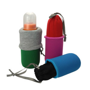 Neoprene Baby Milk Bottle Sleeve Cooler Holder pictures & photos