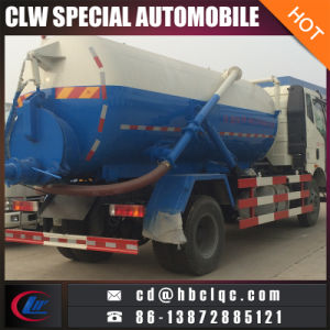 FAW 4X2 Vacuum Tank Sewage 10t Sewage Vehicle pictures & photos