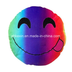Colorful Plush Toy Emotion Emoji Pillow for Decoration pictures & photos
