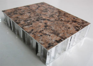 1220X2440mm Stone Grain Aluminum Honeycomb Panels pictures & photos