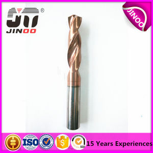 2flute Tungsten Solid Carbide Drill Bit for Steel pictures & photos