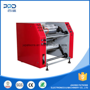 Low Price Semi Automatic Stretch Film Slitting&Rewinding Machine pictures & photos