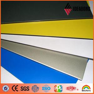PVDF Coating Exterior Wall Decoration Gold Metallic Aluminum Composite Panel pictures & photos