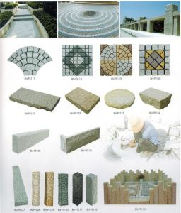 Cheap Price Natural Granite Curved Paving Stone Cube Stone pictures & photos