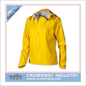 Hooded Lightweight Woman Winter Waterproof Jacket pictures & photos