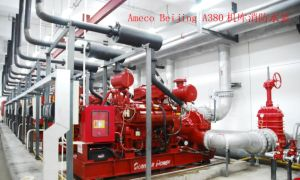 Wandi Brand Fire Pump Set Used in Beijing Airport 300kVA-1250kVA pictures & photos