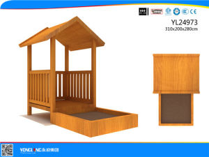 Amusement Park Wooden House Outdoor Playground Equipment (YL24973) pictures & photos