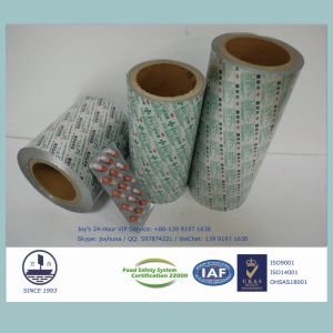 Pharmaceutical Packaging with Alloy 8011 H18 Ptp Aluminum Foil pictures & photos