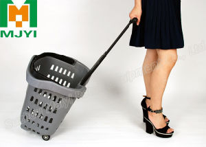 Beautiful Shopping Basket Plastic Basket pictures & photos