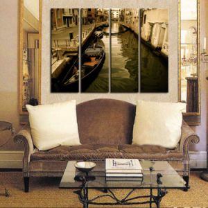 Canvas Print Living Room Decoration Canvas Painting Panel 4 pictures & photos