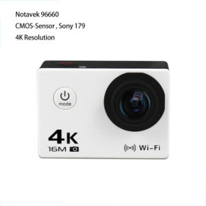FHD WiFi 4k Sports DV H2r with H. 264 pictures & photos