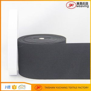 Good Quality Knitted Elastic Band/Elastic Webbing/Elastic Tape Belt pictures & photos