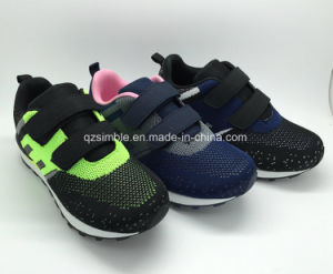 Newest Children′s Sport Casual Shoes with Flyknit Upper pictures & photos