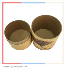 Kraft Paper Tube for Food and Tea Packaging pictures & photos