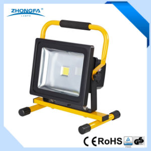 Ce GS RoHS Approved 30W LED Rechargeable Flood Light pictures & photos