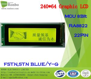 240X64 COB Graphic LCD Module, Ra8822, 22pin, for POS, Doorbell, Medical, Cars pictures & photos
