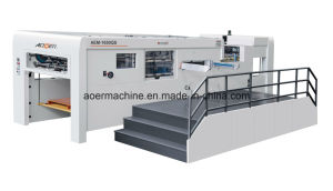 AEM-1650S Manual Automatic Dual Purpose Die Cutting Machine pictures & photos