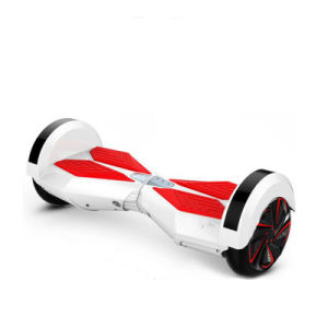 High Quality Low Price 8inch 2 Wheel Bluetooth LED E-Scooter pictures & photos