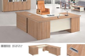 Modern Oak Wooden Executive Desk Office Furniture pictures & photos