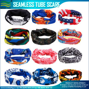 Microfiber Multifunctional Seamless Tube Bandana (NF20F20007) pictures & photos