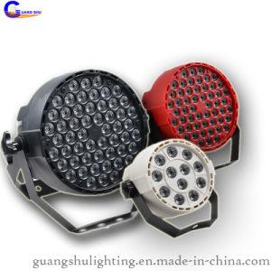 Hot-Sale Decoration Lighting 54PCS*1W Plastic LED PAR Can Light 12PCS Available