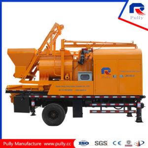 Hydraulic Concrete Mixing Pump Truck pictures & photos