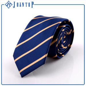 Custom Men 100% Polyester Stripes Neckties pictures & photos