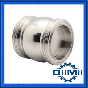 Stainless Steel 304 316L Sanitary Welded/Clamp/Thread Check Valve pictures & photos