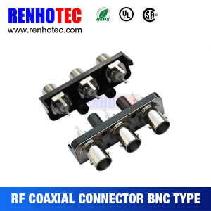 BNC to RCA Right Angle PCB Mount Connector pictures & photos