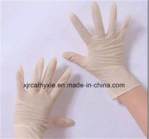 Stretch Synthetic Latex Gloves Powder Free &Powder (copy latex gloves) pictures & photos