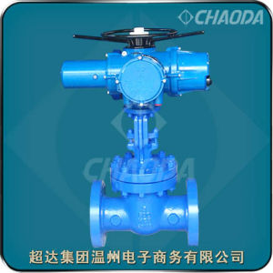 Electric Actuated API Standard Gate Valve pictures & photos