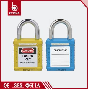 20mm Length Ultra Short Steel Shackle Safety Padlock (BD-G61) pictures & photos