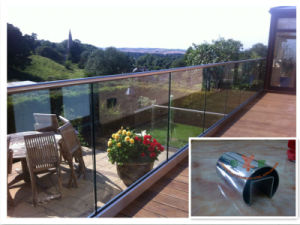Stainless Steel Slot Tube Railing pictures & photos