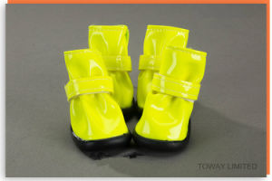 Waterproof Dog Shoes Products Customized Pet Rain Boots pictures & photos