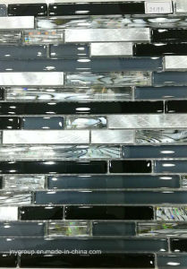 Glass Mosaic Horzion Mix with Metal Jy19k pictures & photos
