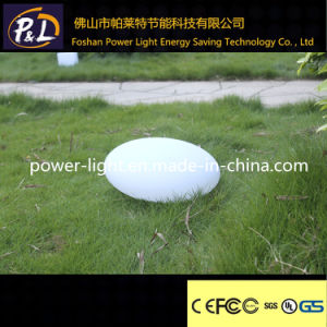 Waterproof Rechargeable Battery Glowing LED Solar Flat Ball pictures & photos