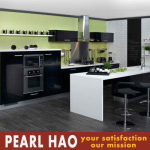 Stylish House PVC Lacquer Wood Kitchen Cabinet pictures & photos