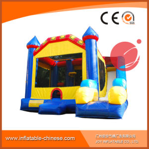 Yellow Coconut Inflatable Jumping Castle Combo for Amusement Park (T3-111) pictures & photos