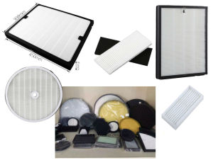 Glass Fiber Media Pleated HEPA Filters pictures & photos