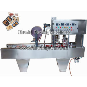 Bg2 Automatic Tofu Box Sealing Machine pictures & photos